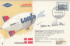 AD7c Europa airship Captain Hans von Schiller,Captain of many Zeppelins