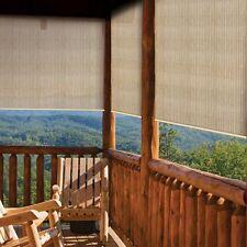 Porch Shade 8x6 Outdoor Deck Blinds Roll Up Sun Screen Patio Window Air Flow