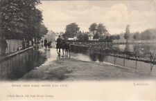BARNES ( London)  : Barnes after heavy rainfall June 1903 -MARLET