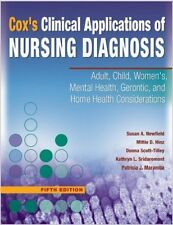 Cox's Clinical Applications of Nursing Diagnosis by Newfield, Hinz, Scott-Tilley