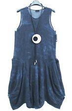 Sarah santos beuliges soga vestido globo vestido túnica dress XL 48 50 Lagenlook
