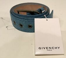 Authentic Givenchy Paris made in Italy denim belt size 36 mens