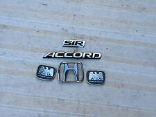 JDM HONDA ACCORD CD6 SEDAN CE1 WAGON REAR AND SIDE EMBLEMS  OEM