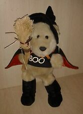 Starbucks Coffee bearista Boo Bear Glow in the Dark Plush 12""