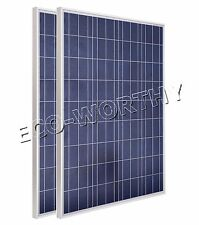 200W 2x100W 12V Solar Panel Solar Module High Efficiency for Camping Car Battery