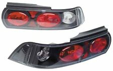 Toyota MR2 Coupe (1990-1999) Clear Lens Black  Rear Back Tail Lexus Lights Lamps