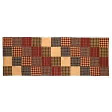 Primitive Country Rustic Rebbecca's Patchwork Farmhouse Quilt Table Runner