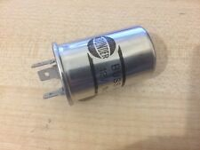 HD FIAT X1/9 X19 12v ROUND FLASHER RELAY - 3 PIN, 12.8 AMP, 2-6 LAMPS BULBS