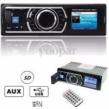 Radio Coche In-Dash 12V SD/USB/AUX FM Estéreo Car MP3 Player Reproductor 1 DIN