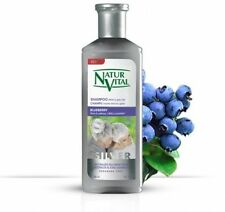 Natur Vital Henna Shampoo For White And Gray Hair - CERTIFIED ORGANIC- 10.1 Fl