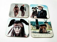Johnny Depp The Lone Ranger SET DE SOUS-VERRES