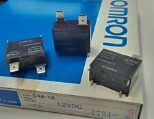 Omron G4A-1A 20Amp/250VAC, 12VDC Relay - Lot of 3 (28B128)