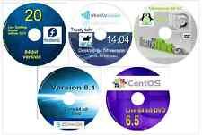 Zorin 9.1 CentOS 7.0 Fedora 23 Mint 17.3 Ubuntu Studio 16.04 64 bit 6 Linux DVDs