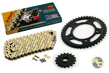 1997-2004 Honda CBR1100XX BLACKBIRD CZ SDZ Gold X Ring Chain/Sprocket 17/45 110L