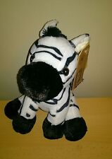 Tesco Cuddle me Friends Jungle Friends Plush Zebra Baby Comforter Soft Hug Toy