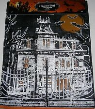 "Halloween Table Runner 13"" X 72""  HAUNTED HOUSE 100% Polyester"