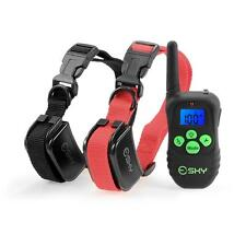 Esky Rechargeable LCD Digital Remote Dog Training Shock Collar for 2 Dog