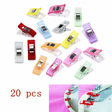 Lots 20pcs Plastic Quilter Holding Wonder Clips Sewing Accessories Quilt Binding