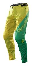 Troy Lee Designs 2014 Bike Sprint Pants Turismo Yellow/Green Mens Size 38