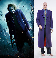 Dark Knight Joker 6 pcs Costume Set Gabardine Trench Coat Version *Tailored*