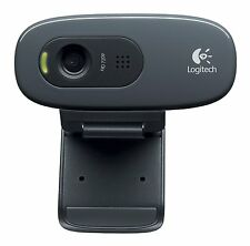 Logitech USB HD Webcam C270 mit Mikrofon 720p 3 MP Windows Android kompatibel HQ