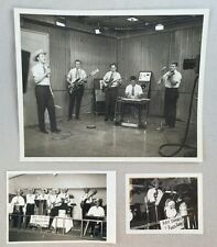 1960s Lot of Photographs Ray Chaney & Ranch Hands Country Music Texas Fort Worth