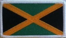 JAMAICA Flag Patch With VELCRO® Brand Fastener Military Emblem