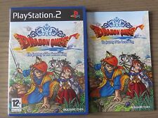 JEU PLAYSTATION 2 PS2  DRAGON QUEST THE JOURNEY OF THE CURSED KING  COMPLET