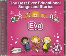 THE BEST EVER EDUCATIONAL SONGS & STORIES PERSONALISED CD - EVA - ABC 4 ME