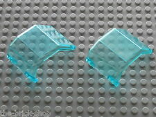 Pare brise Helicoptere LEGO TrLtBlue  helicopter windscreen 2483 / 6597 10159...