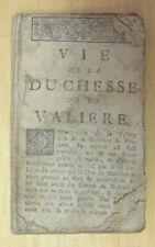 VIE DE LA DUCHESSE DE LA VALLIERE VERS 1800