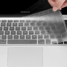 "US Clear Silicone TPU Keyboard Cover Skin for Macbook Pro/Retina /Air 13"" 15"""