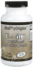 Pure Natural Vitamin E, 400iu x180caps;- HAIR - SKIN - NAILS
