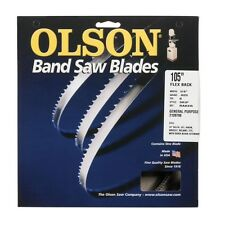Olson Saw 14505 Band Saw Blade, 105""