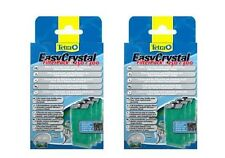 2 x Tetra Tetratec Easy Crystal Carbon Filter Pack C 250 300 Easycrystal Filter