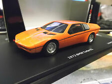 Bmw m1 turbo concept x1 Prototype estudio 1972 Orange Red rojo Schuco Pro R 1:43