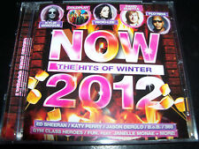 NOW The Hits Of Winter 2012 Kylie Minogue Coldplay Katy Perry 360 Ed Sheeran & M