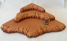 Wargaming 3 Tier Desert Corner Hill Scenery Warhammer, 40K, Warmachine, Hordes
