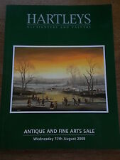 Hartleys Antique Auction Catalogue Decorative Arts incl BA Shields BRAAQ Picture