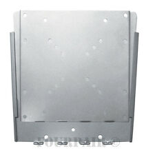 Ultra Slim Universal VESA LCD Monitor TV Wall Mount Bracket Low Profile - Silver
