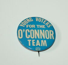 1966 New York City Young Voters O'Connor Team Political Campaign Button NOS New