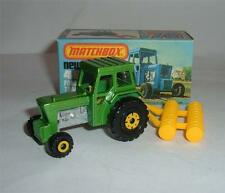 Matchbox Superfast Nº 46 Ford Tractor & Harrow, - Excelente.