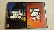 Grand Theft Auto III & Vice City Double Pack (Sony PlayStation 2) PS2 games