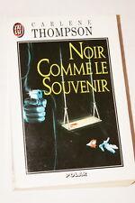 NOIR COMME LE SOUVENIR CARLENE THOMPSON 1995