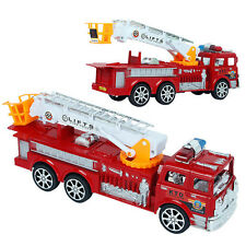 Child Boy Girl Toy Fire Truck Fire Engine Fire Rescue Vehicle Kids Playset Toy