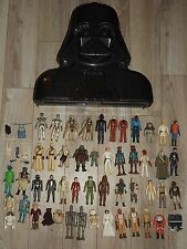 VTG 1977-83 STAR WARS ACTION FIGURE WEAPONS ACCESSORIES DARTH VADER CASE LOT 50+