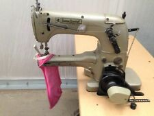 UNION SPECIAL 31200Q TWO NEEDLE  UP-ARM TAPER W/FOLDER INDUSTRIAL SEWING MACHINE