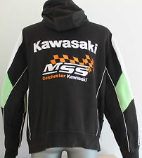 Mens KAWASAKI MSS Colchester Jacket Hooded Moto Biker Racing Motocross Size M