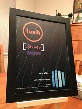 "FRAMED ORIGINAL & RARE LUSH ""SPOOKY"" LP ALBUM CD PROMO AD"