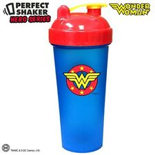 Perfect Shaker WONDER WOMAN Blender Cup Bottle 28 oz SUPER HERO MIXER